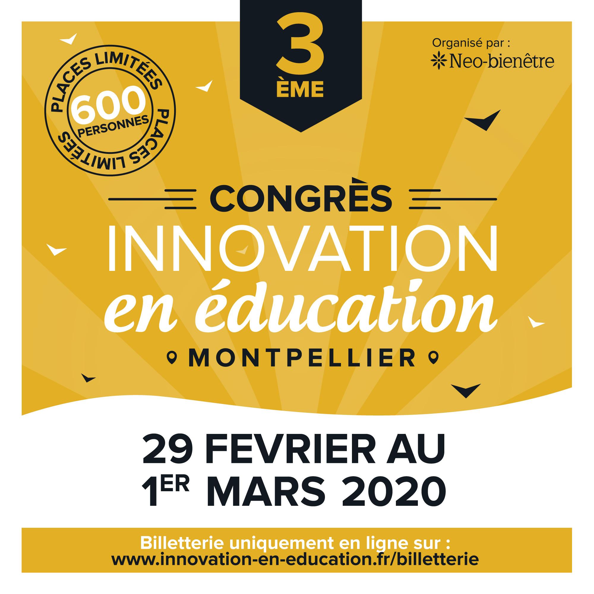 3ème Congrès «Innovation en éducation»