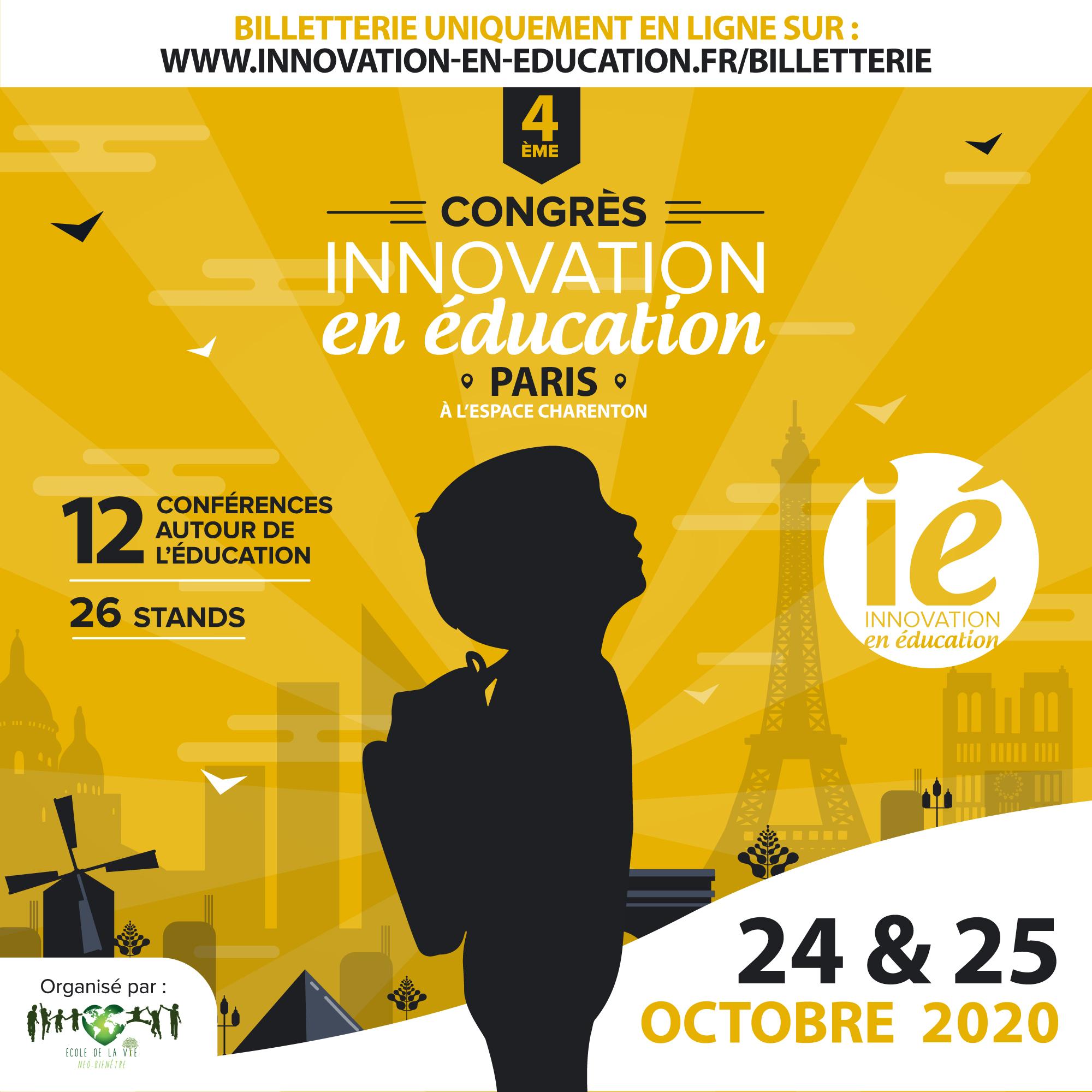 4ème Congrès «Innovation en éducation»