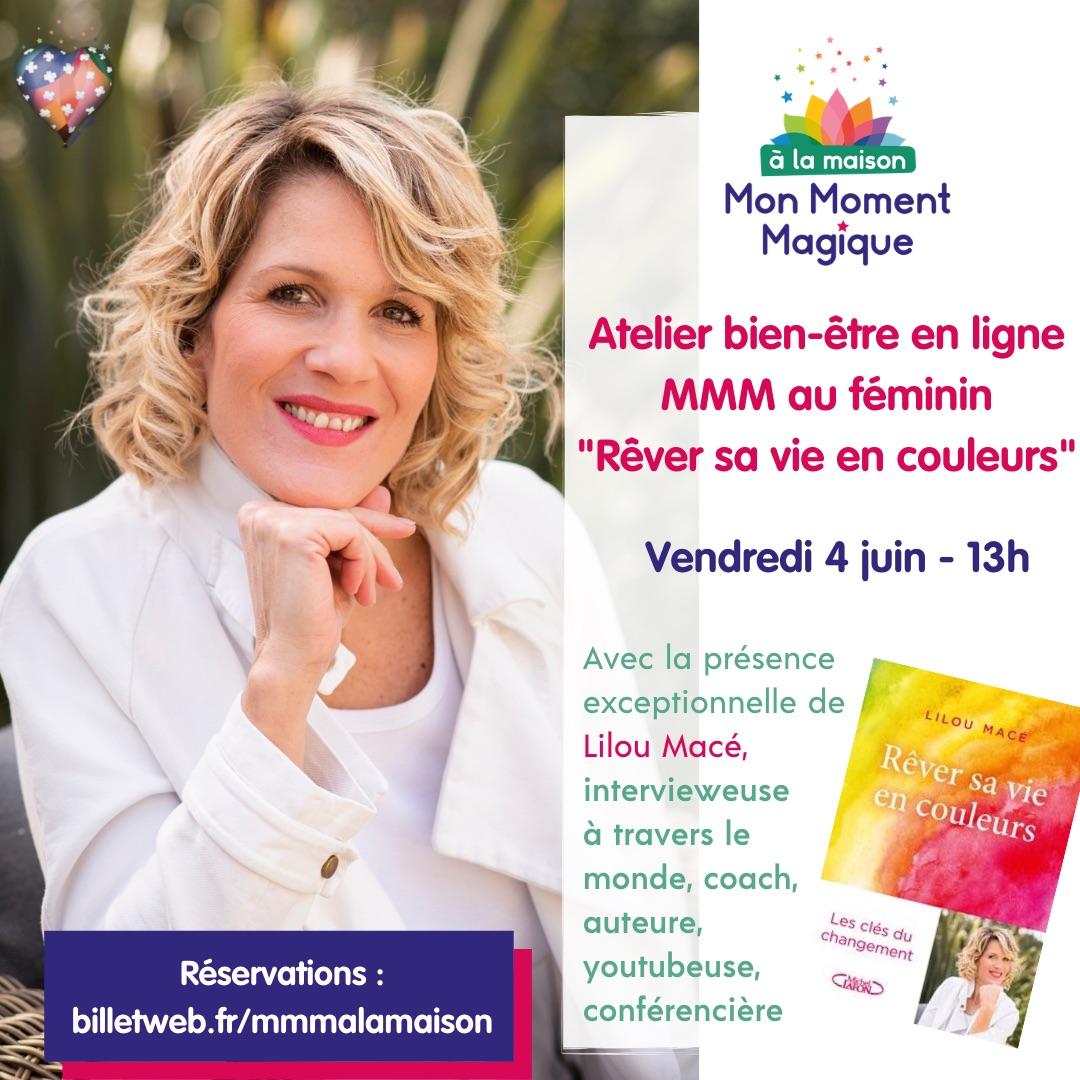Atelier avec Lilou Macé «Rêver sa vie en couleurs»