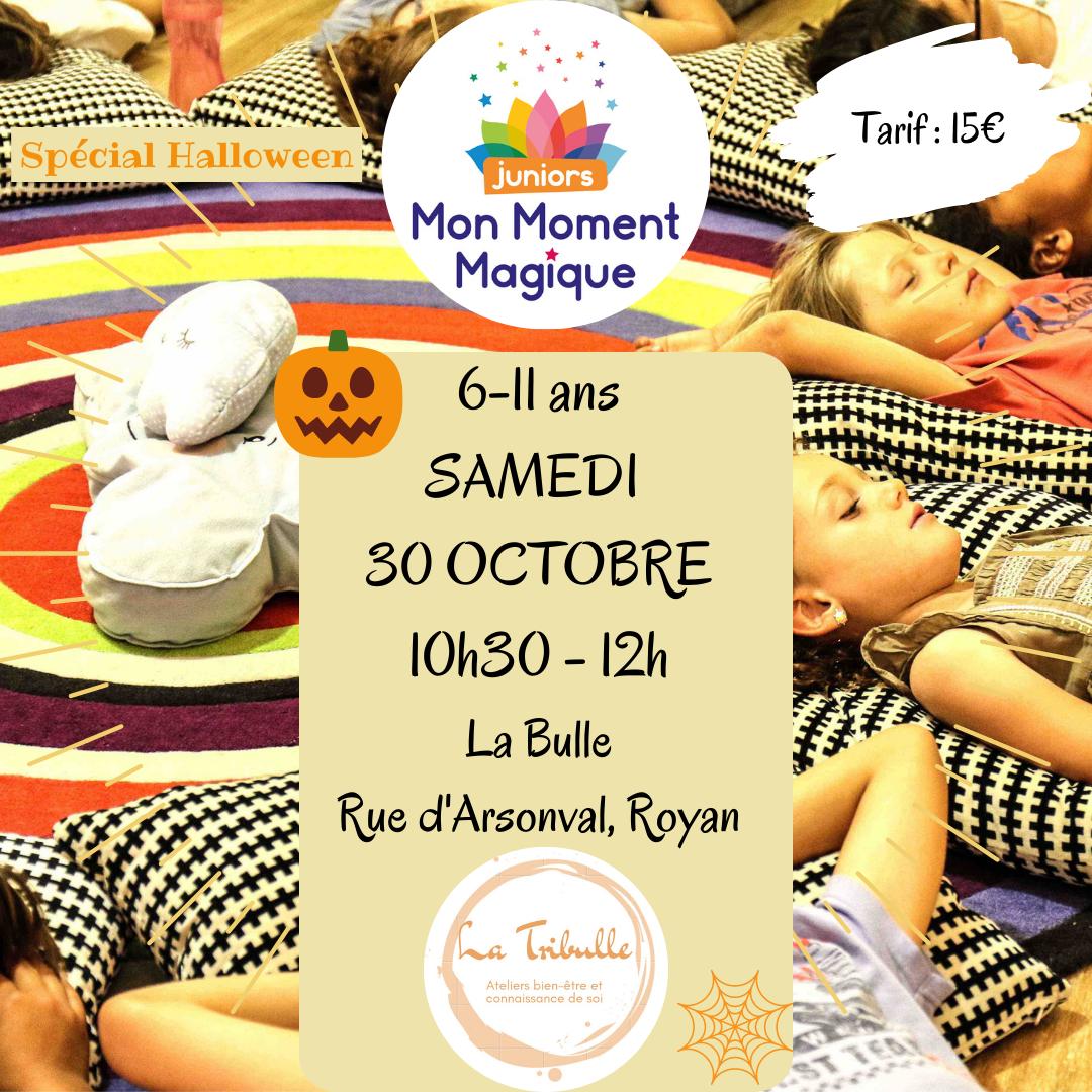 Atelier Mon Moment Magique Juniors – Spécial Halloween