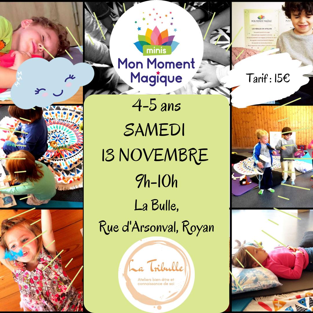 Atelier Mon Moment Magique Minis