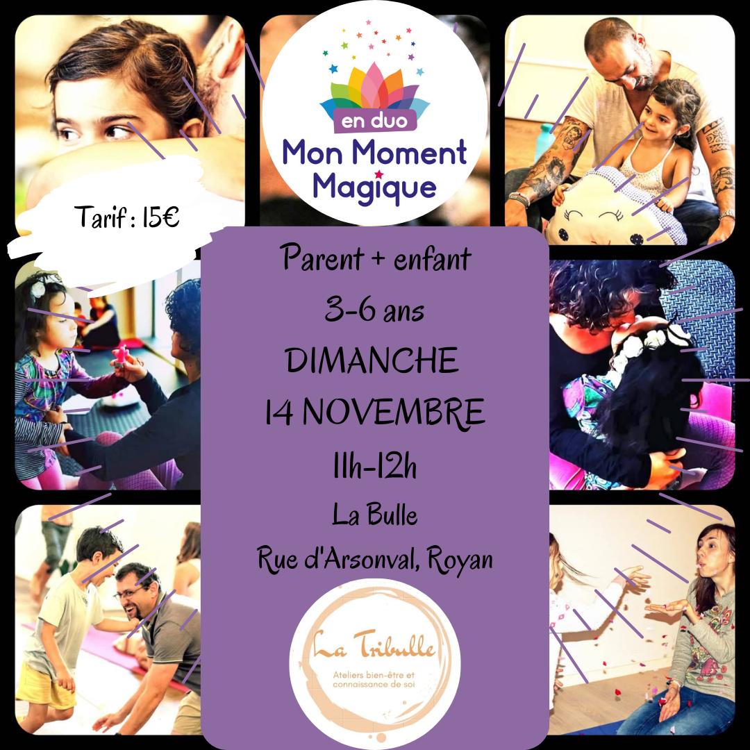 Atelier Mon Moment Magique En Duo 3-6 ans